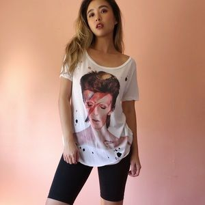 David Bowie Distressed Tee